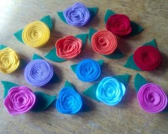 Plush Rosettes Magnets