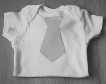 Baby Boy's Tie Onsie