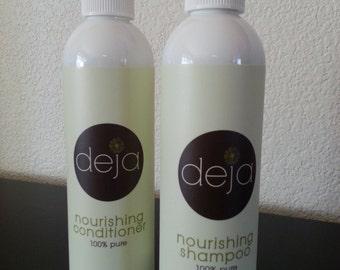 organic nourishing shampoo 8oz
