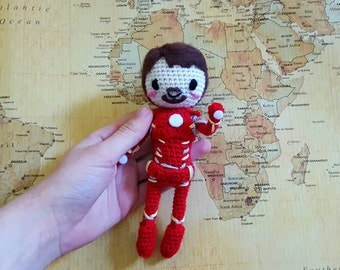 Amigurumi Iron Man / Tony Stark Mark 43