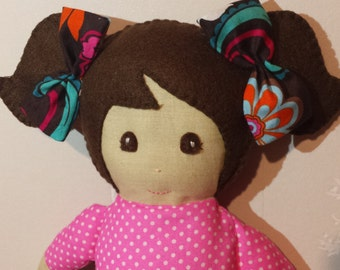 Handmade Fabric Doll (15% DISCOUNT)