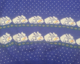 Vintage Lord & Taylor Bunny Sweater