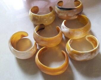 Horn Cuff Bracelet Handmade Jewelry -VT009