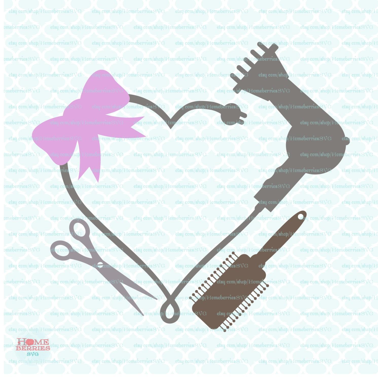 Hair stylist christmas ornaments - Blowdryer Svg Blowdryer Monogram Frame Svg Hairdresser Svg Hair Dresser Svg Hair Stylist Svg Hairstylist Svg