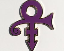 PRINCE hard enamel lapel pin