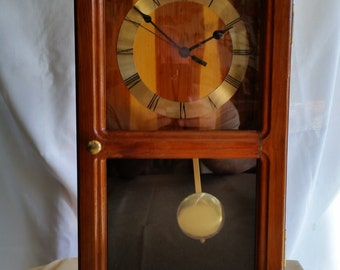 Mantle Pendulum Clock Reclaimed