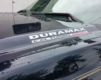 Duramax Decal Etsy - Chevy duramax diesel decals
