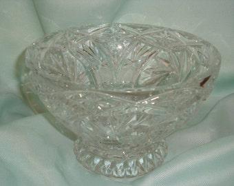 Genuine Pinwheel Round Footed Bowl