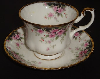 Royal Albert BALMORAL Tea Cup and Saucer