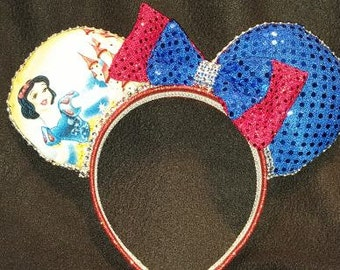 Snow White with Castle Disney Inspired Ears
