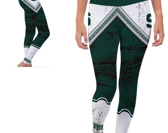 Michigan State Spartans Yoga Pants