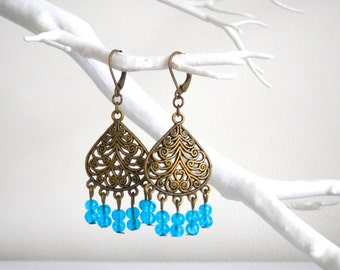 Antique Bronze Earrings