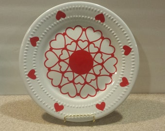 Sweetheart Plate 10 1/2""