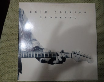 vintage vinyl record Eric Clapton, SlowHand