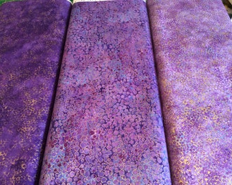 Northcott  Shimmer Purples  fabric  by the half yard