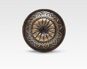 Metal knob, vintage