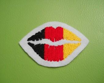 Application Germany fan lips of patch EM