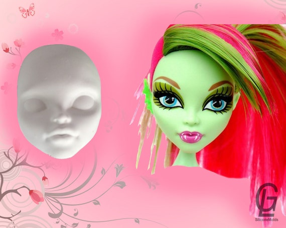 how to make a silicone barbie doll mould
