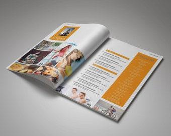 Multipurpose Magazine Template 1