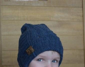 Blue Knit Child Fit
