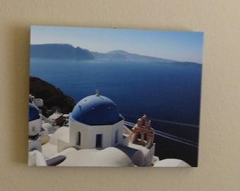 Santorini, Greece on 16x20 canvas