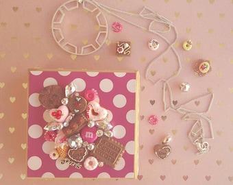 Sweet kawaii design trinket box