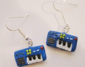 Gene's Keyboard Earrings
