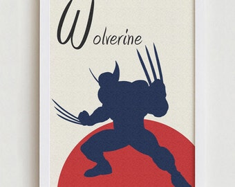 Wolverine art wall decor home design