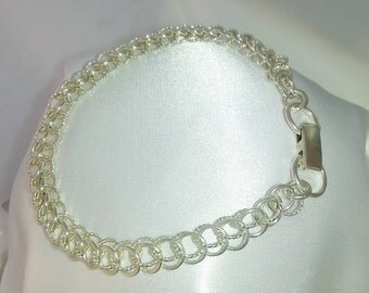 385 -  Sterling Silver Half Persian with Twist