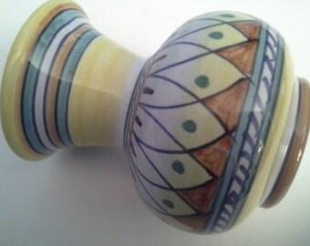 Italian hand painted vase