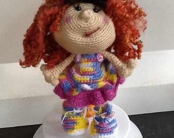 Doll Crochet Amigurumi Stuffed Toy Doll