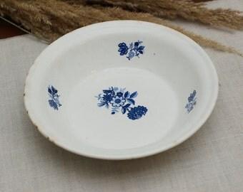 Plates Plate Ring dish Rustic dinnerware Kitchen decor Farmhouse decor Rustic dish Vintage crockery Home decor Rustic dishes Ceramic plate