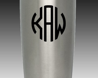20 oz custom engraved yeti tumbler your design or your own
