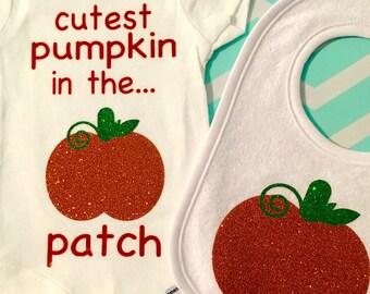 Halloween onesie-pumpkin onesie-first halloween onesie-fall onesie-cutest pumpkin onesie-newborn onesie-child onesie-fall onesie-oneise set