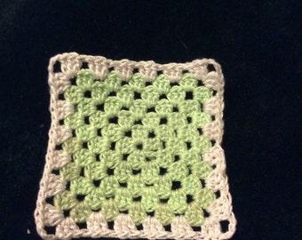 Granny squares Green