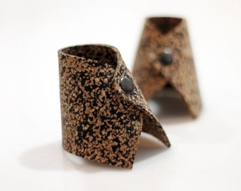 Cork Napkin Rings Boho Chic Holders Gift For Mother Dining Table Decor