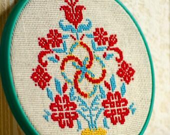 Slavic Amulet for House - Svadebnik . Drevo Zhizni - Tree of life ( Hoop art)