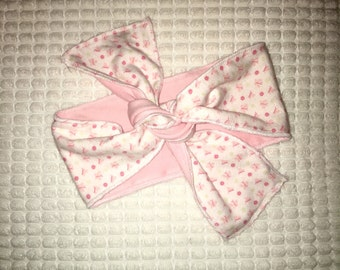 Baby pink head band