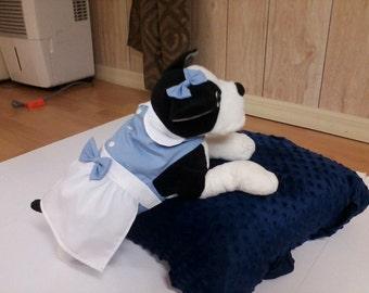 Dog dress, 1950s Dog dress, 50's Dinner dress Dog costume