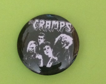 """The Cramps 1"""" Button"""