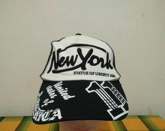 Rare Vintage NEW YORK Statute of Liberty | New York Monument Cap Hat Free size fit all