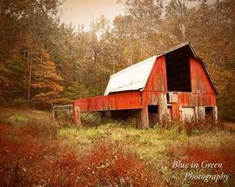 Brown county barn