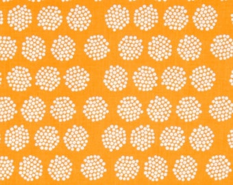 Fireflies Orange - Good Natured - HALF YARD - Riley Blake - Cotton Fabric - Quilting Fabric
