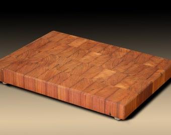 heart pine cutting board