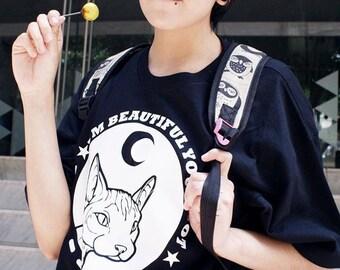 Male Sphynx Cat t-shirt