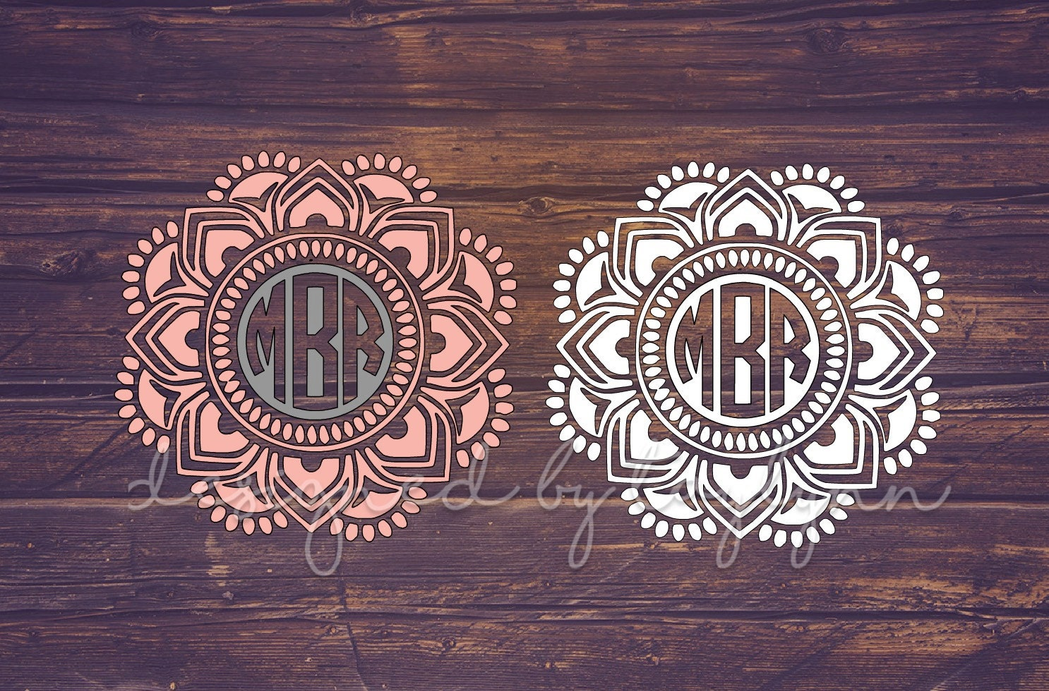 reverse mandala decal mandala decal mandalas yeti decal