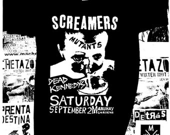 Screamers, Mutants, Dead Kennedys Gig (Gigs T-shirts collection)