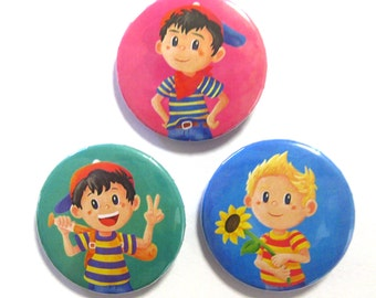 Mother / Earthbound Button Set