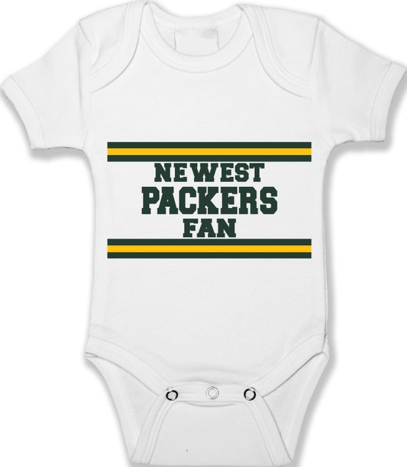 Green Bay Packers Fan Baby Bodysuit Unisex Baby Clothes