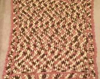 Neopolitan Crocheted Baby Blanket